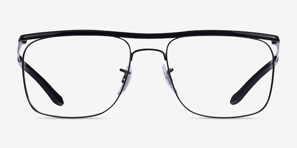Ray-Ban RB6519 Black Metal Eyeglass Frames
