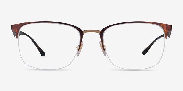 Ray-Ban RB6433 Tortoise Gold Metal Eyeglass Frames
