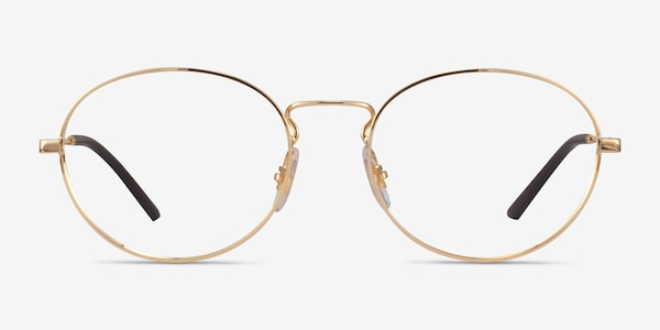 Ray-Ban RB6439 Gold Metal Eyeglass Frames