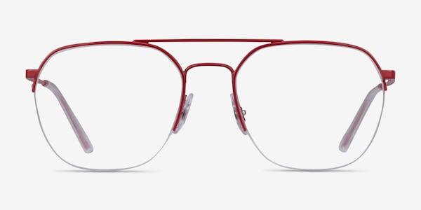 Ray-Ban RB6444 Red Metal Eyeglass Frames