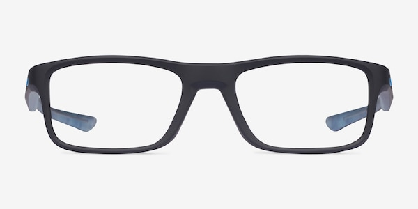 Oakley Plank 2.0 Satin Black Plastic Eyeglass Frames