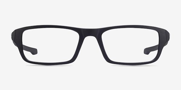 Oakley Chamfer Satin Black Plastic Eyeglass Frames