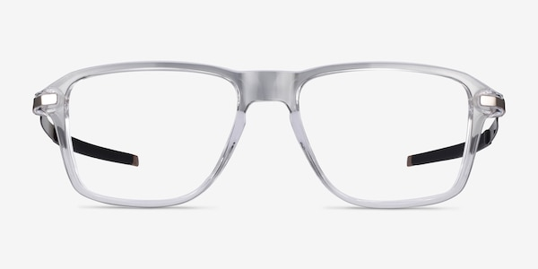 Oakley Wheel House Polished Clear Plastic Eyeglass Frames
