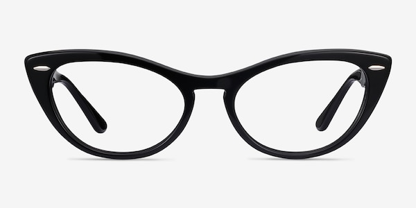 Ray-Ban Nina Black Acetate Eyeglass Frames