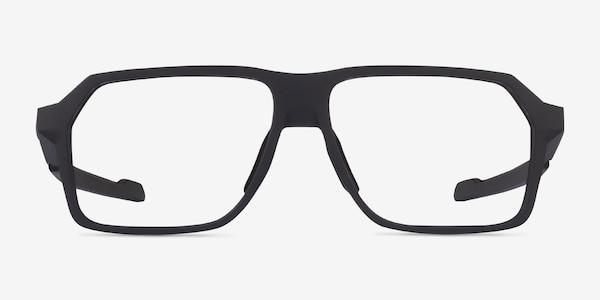 Oakley Bevel Black Plastic Eyeglass Frames