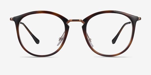 Ray-Ban RB7140 Tortoise Bronze Metal Eyeglass Frames