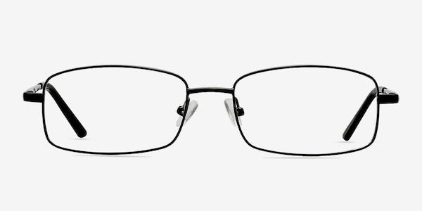 Brodie Black Metal Eyeglass Frames