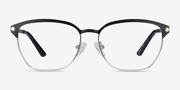 Berkeley Black Metal Eyeglass Frames