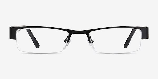 Bud Black Acetate-metal Eyeglass Frames