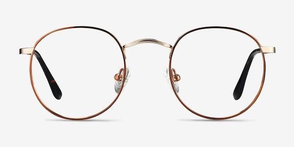 Daydream Brown Golden Métal Montures de lunettes de vue