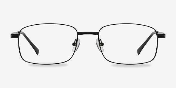 Jerauld Black Metal Eyeglass Frames
