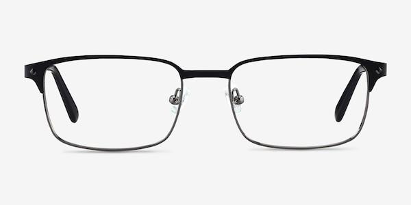 Normandy Black Metal Eyeglass Frames