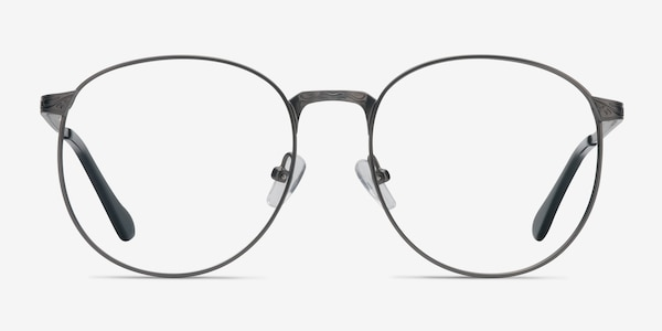 Lotus Gunmetal Metal Eyeglass Frames