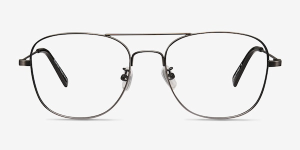 Courser Gunmetal Metal Eyeglass Frames