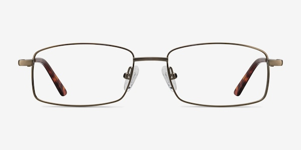 Tab Bronze Metal Eyeglass Frames