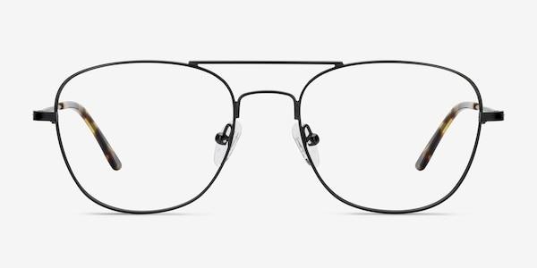 Captain Black Metal Eyeglass Frames