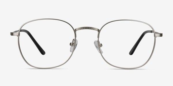 Suspense Silver Metal Eyeglass Frames