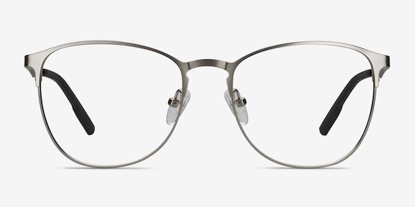 Ember Silver Metal Eyeglass Frames