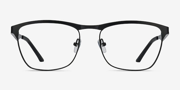 Foundry Black Metal Eyeglass Frames