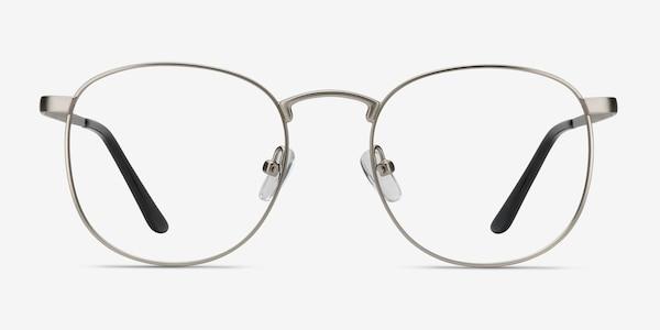 St Michel Silver Metal Eyeglass Frames