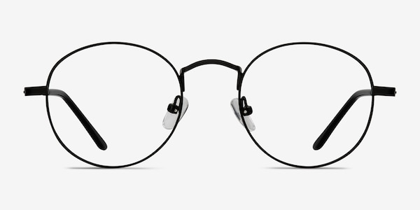 Cupertino Black Metal Eyeglass Frames