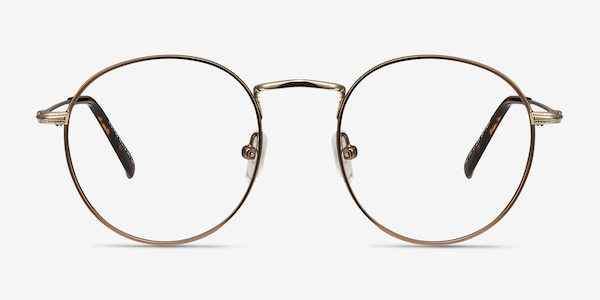Wistful Coffee Metal Eyeglass Frames