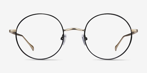 Synapse Black Metal Eyeglass Frames