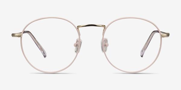 Wistful Matte Pink Metal Eyeglass Frames