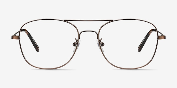 Courser Coffee Metal Eyeglass Frames