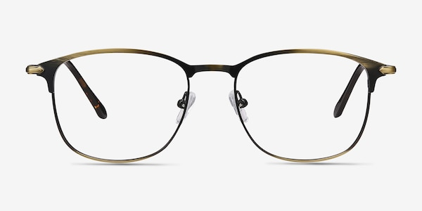Cella Bronze Metal Eyeglass Frames