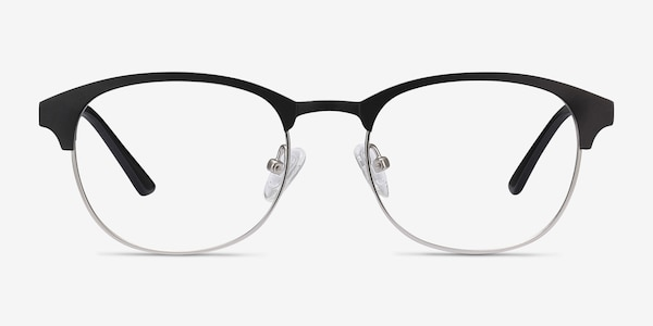 Toledo Black Metal Eyeglass Frames
