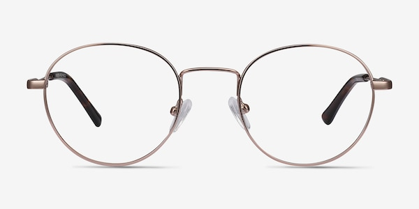 Memento Rose Gold Metal Eyeglass Frames