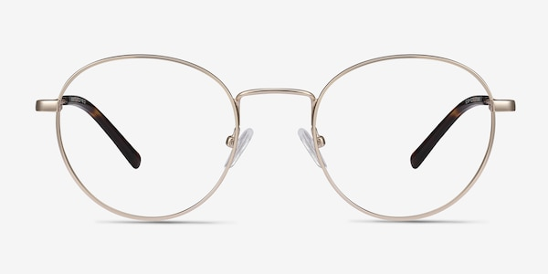 Memento Golden Metal Eyeglass Frames