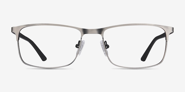 Wit Gunmetal Metal Eyeglass Frames
