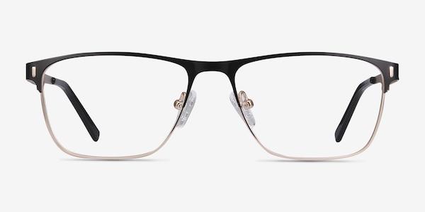 Media Black Metal Eyeglass Frames