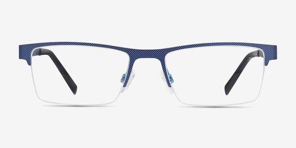 Vine Blue Metal Eyeglass Frames