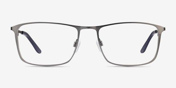 Daytona Gunmetal Metal Eyeglass Frames