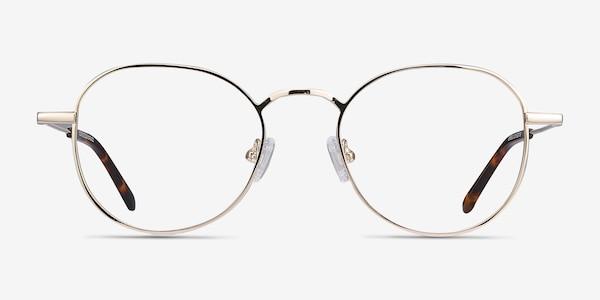 Cori Golden Metal Eyeglass Frames