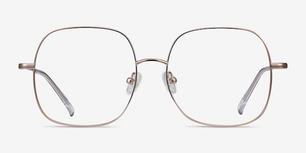 Movement Rose Gold Metal Eyeglass Frames