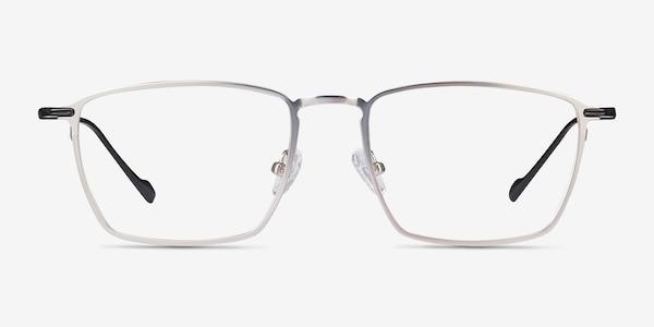 Wind Silver Metal Eyeglass Frames