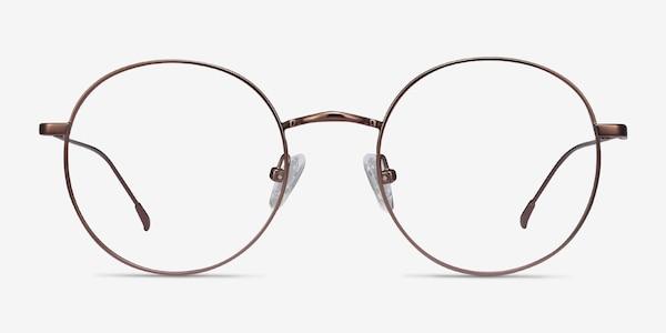 Dapper Coffee Metal Eyeglass Frames