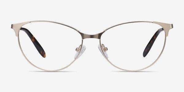 Sisi Rose Gold Metal Eyeglass Frames