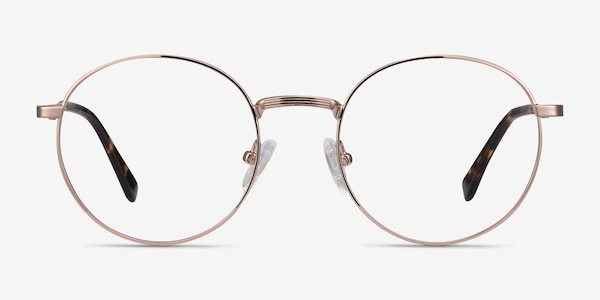 Bistro Rose Gold Metal Eyeglass Frames
