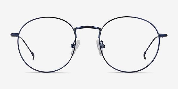 Novel Navy Metal Eyeglass Frames