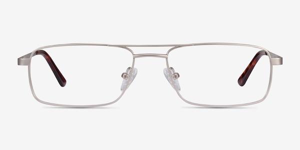 Maverick Silver Metal Eyeglass Frames