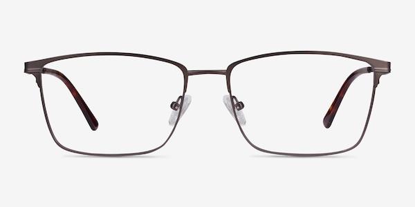 Castle Gunmetal Metal Eyeglass Frames