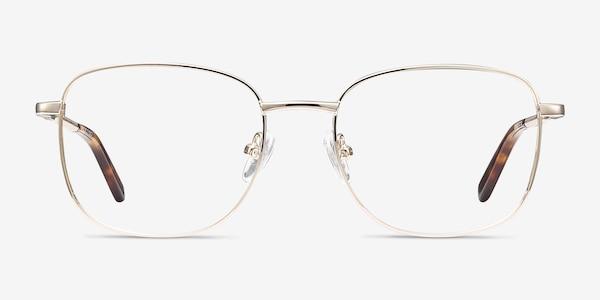 Aspect Golden Metal Eyeglass Frames