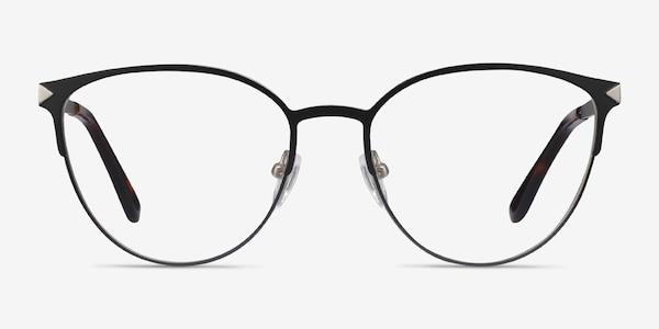 Nadia Noir Métal Montures de lunettes de vue