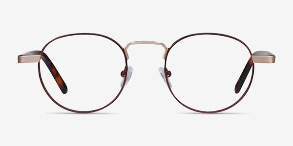 Orbit Brown Acetate-metal Eyeglass Frames