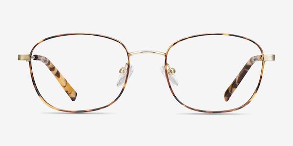 Fortune Tortoise Metal Eyeglass Frames